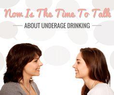 Talk About Underage Drinking.